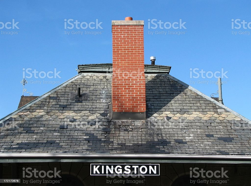 Kingston Train Station royalty-free stock photo