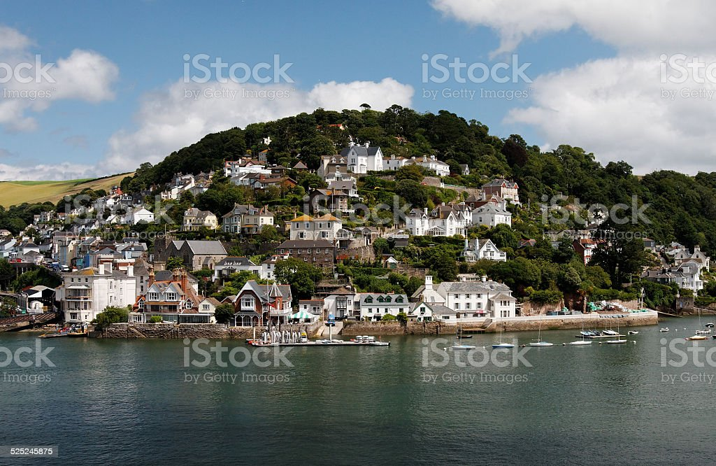 Kingswear Devon stock photo