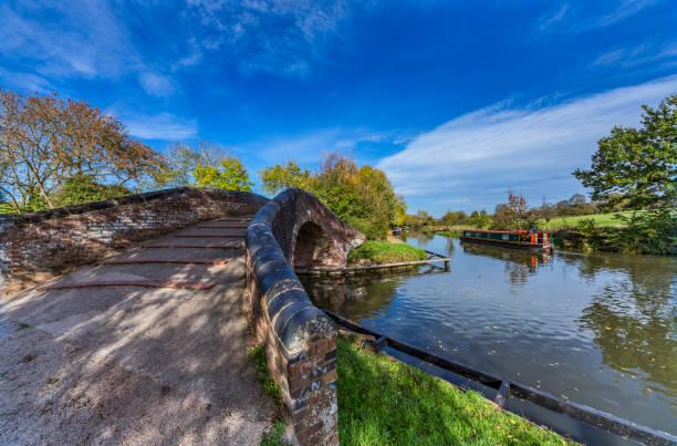 Kingswood Junction Stratford Canal Warwickshire England UK stock photo