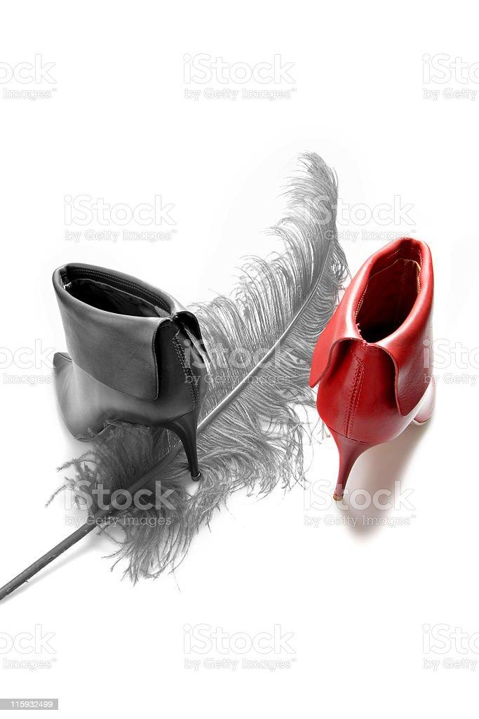kinky boots stock photo
