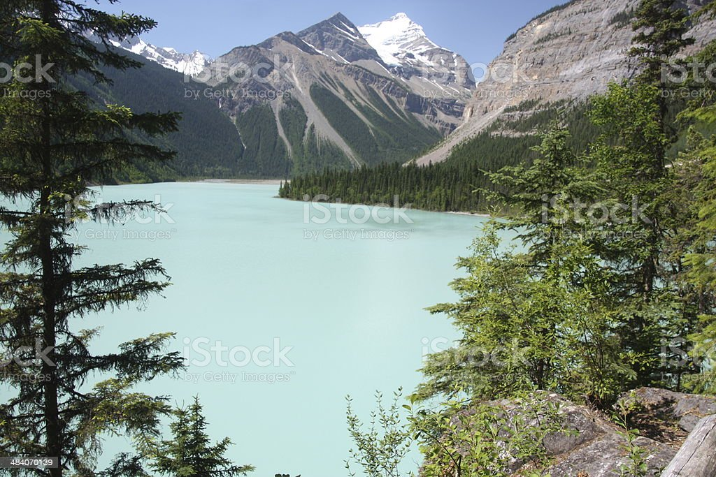 Kinney Lake, British Columbia, Canada stock photo