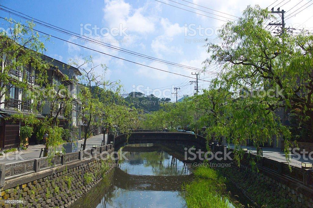 Kinosaki Onsen - Japan stock photo