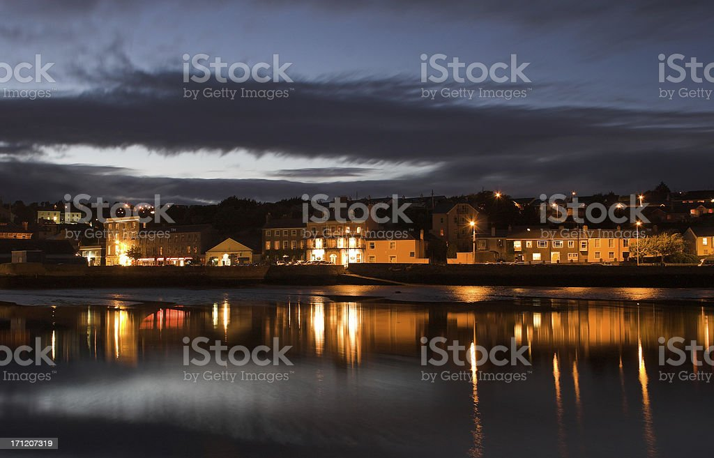 Kinsale harbour royalty-free stock photo