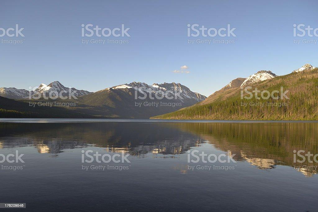 Kintla Lake royalty-free stock photo