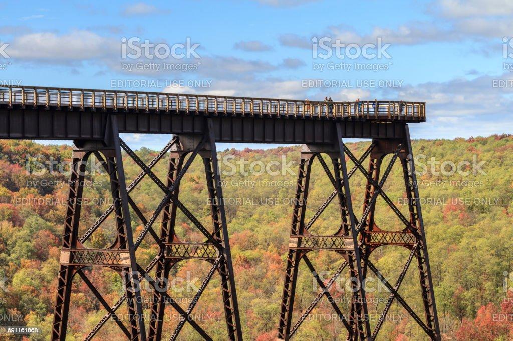 Kinzua Bridge stock photo