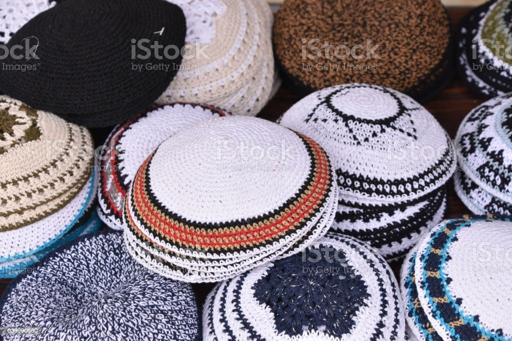 Kippah - Yarmulke stock photo