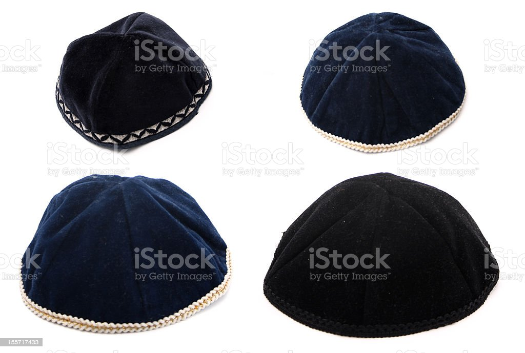 Kippahs stock photo