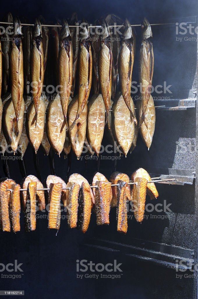 Kipper (Prepared Fish) stock photo