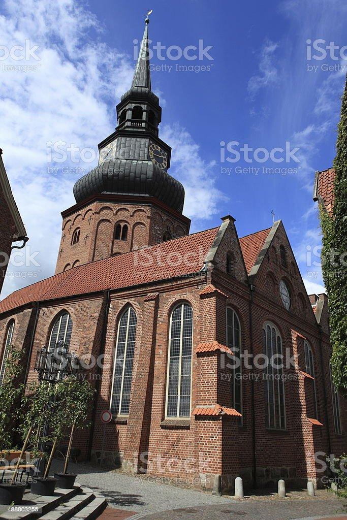 Kirche von Stade stock photo