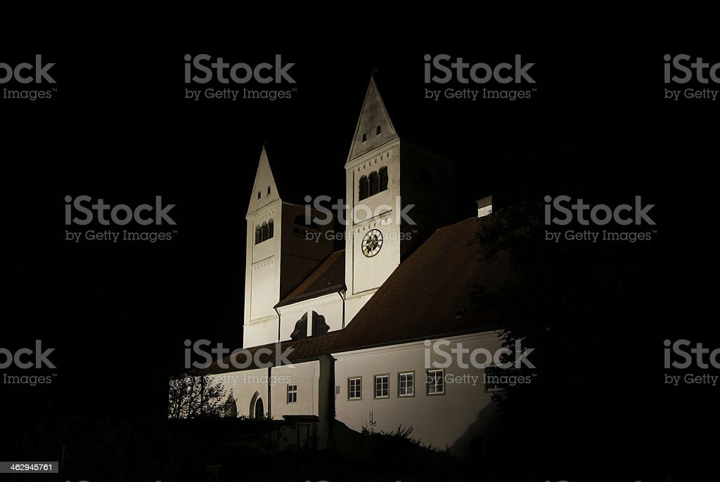 Kirchen der Pfarrei Steingarden, Germany royalty-free stock photo