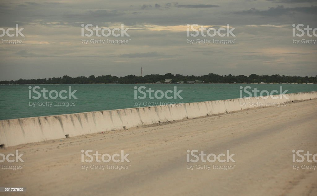 Kiribati, Tarawa island stock photo