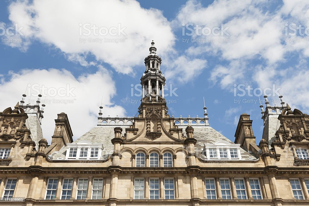 Kirkgate market leeds royalty-free stock photo