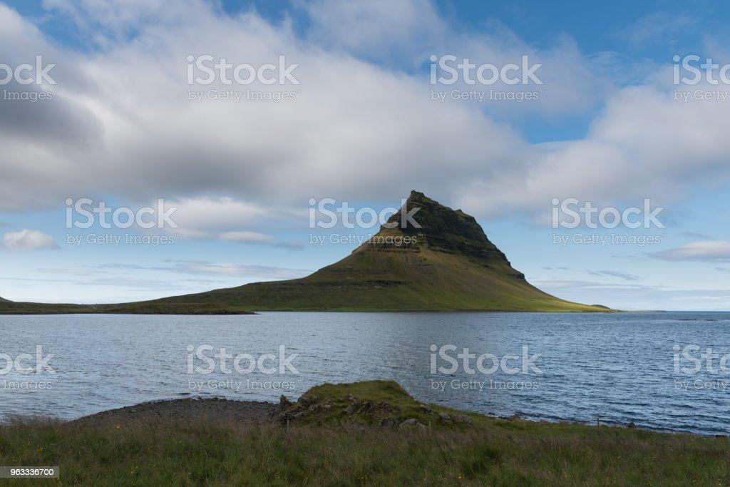 Kirkjufell stock photo