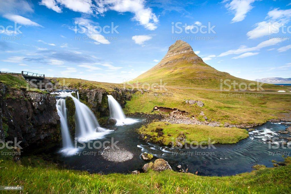 Kirkjufellsfoss. stock photo