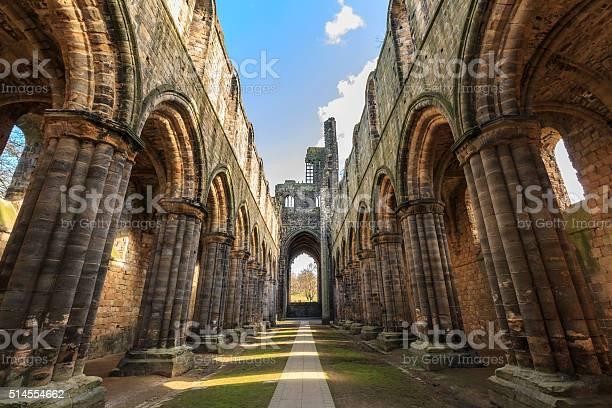 Kirkstall Abbey - Leeds, West Yorkshire.