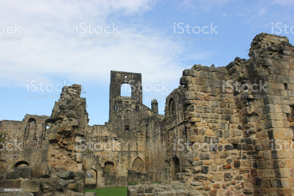 Kirkstall Abbey stock photo