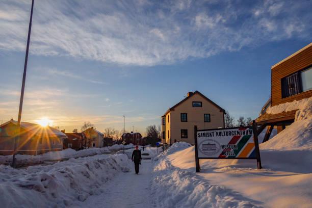 kiruna, sweden - alexander farnsworth bildbanksfoton och bilder
