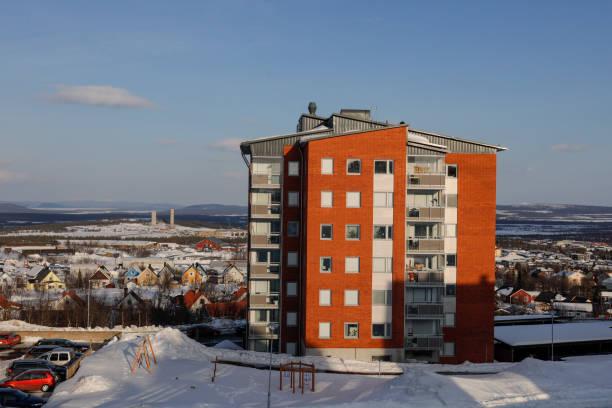 kiruna, sweden, - alexander farnsworth bildbanksfoton och bilder
