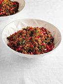 Tabbouleh, Bulgur Wheat, Pilau Rice, Tomato, Turkey - Middle East, gravy, pomegranate, bulgur salad, kisir, food, Arabia, East Asia, Lebanon - Country, food and drink