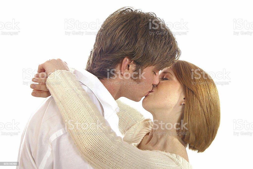 Kiss 2 royalty-free stock photo