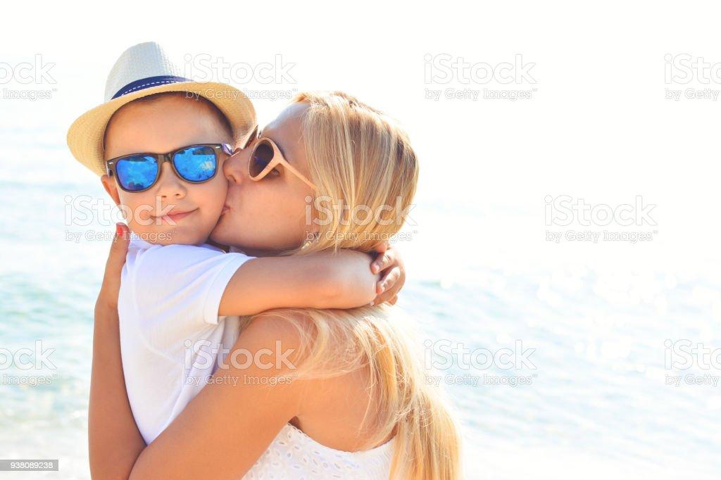 Kuss für meinen besten jungen – Foto