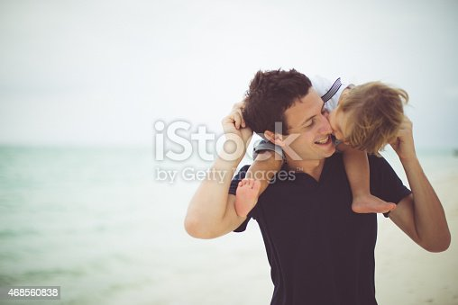 Kiss for my daddy