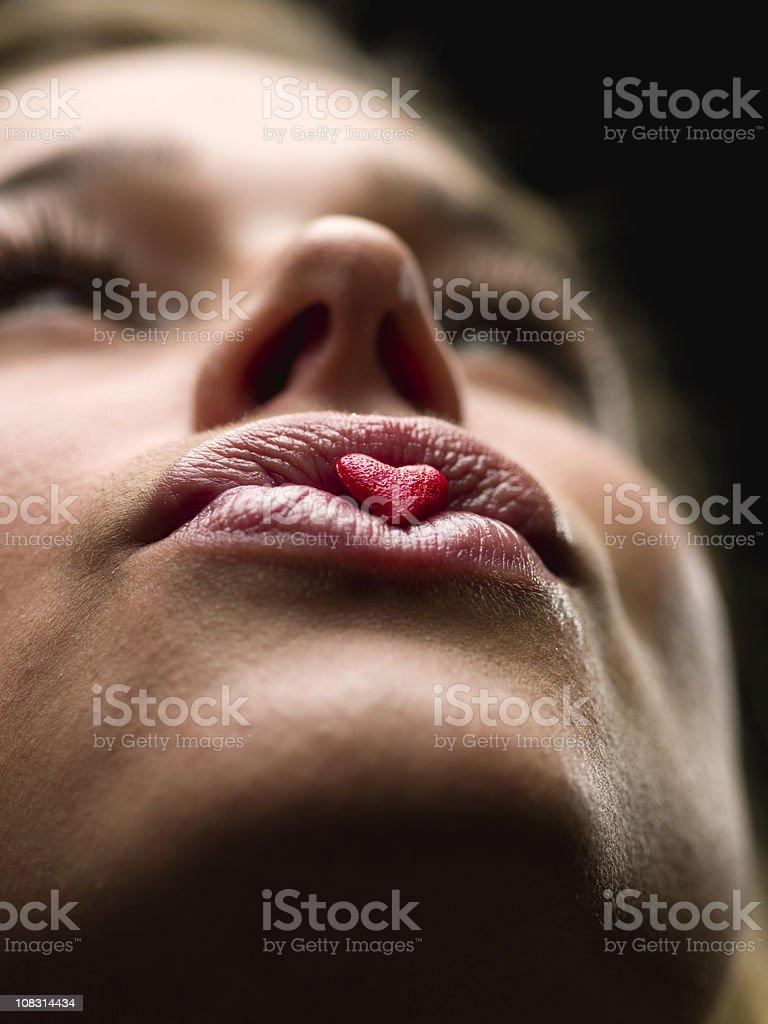 Kiss of Love royalty-free stock photo