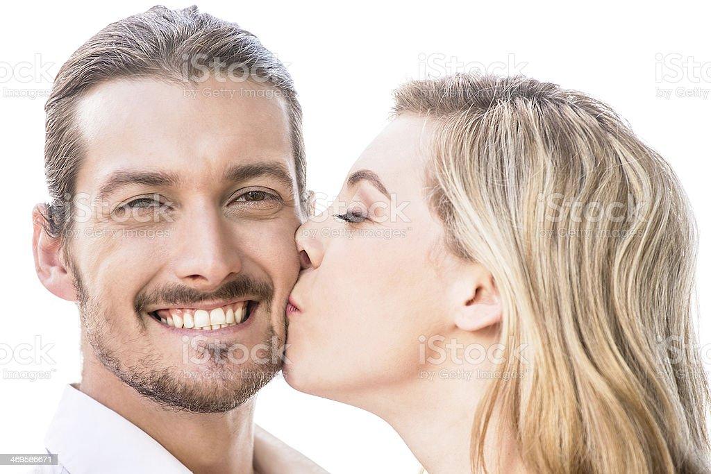 Kuss auf die wange   Was eure Küsse über eure Beziehung