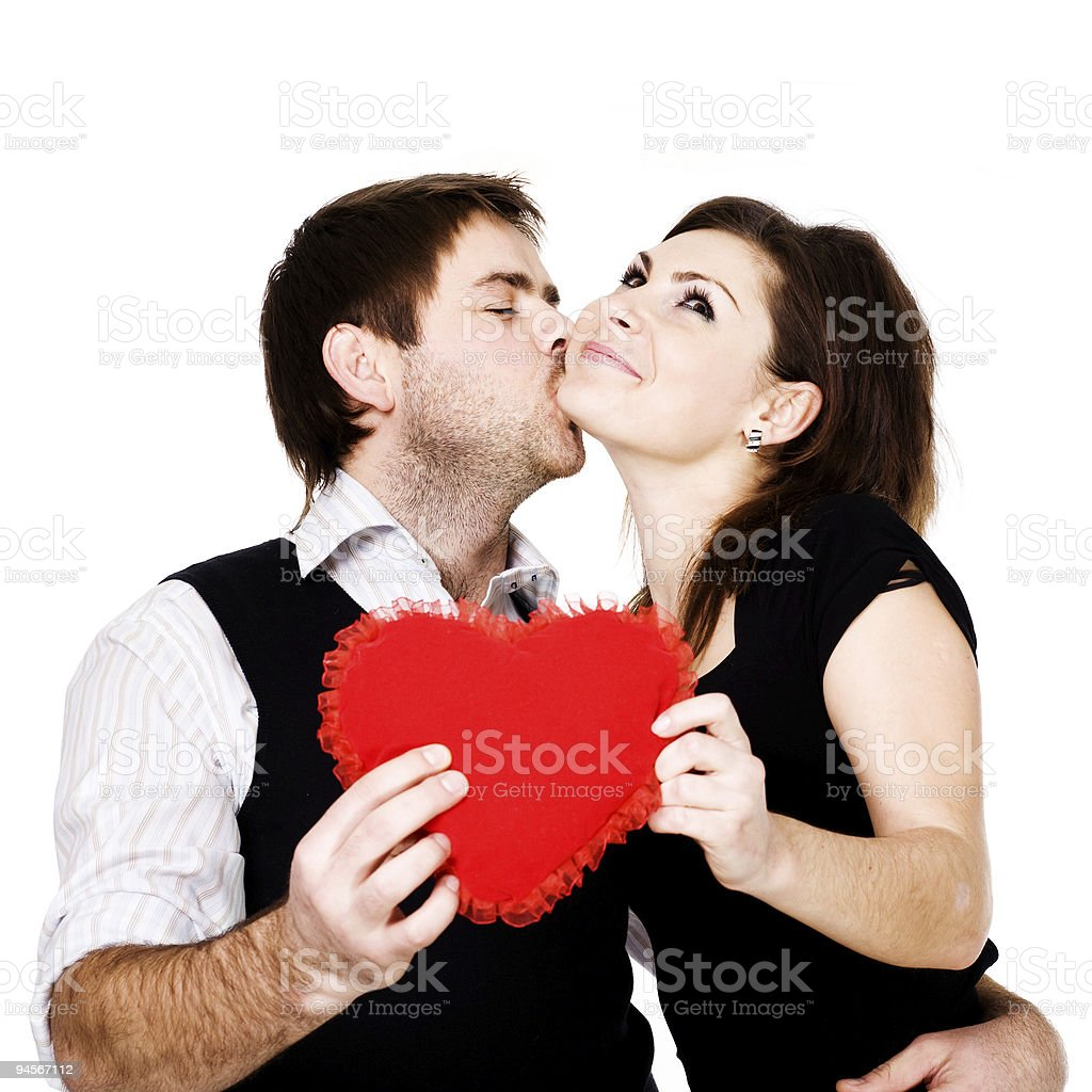 Kiss  Adult Stock Photo