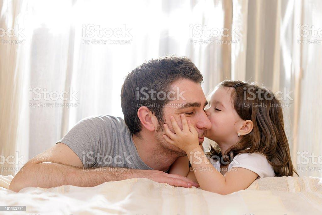 kiss you stock photo