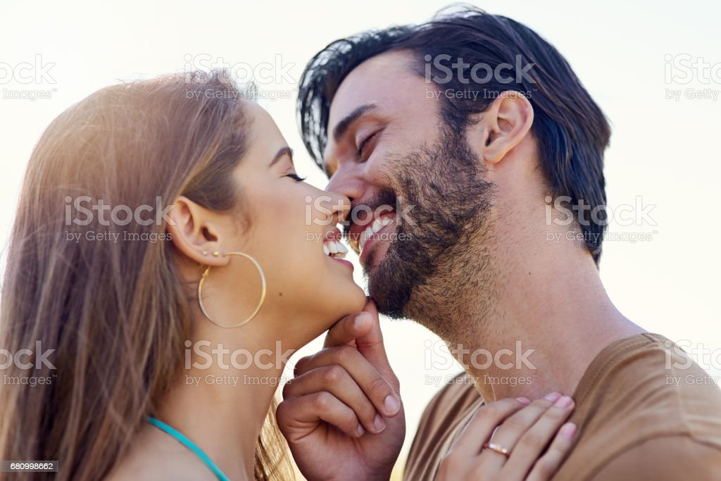 Kisses to last forever royalty-free stock photo