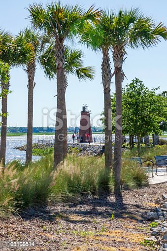 Kissimmee Lakefront Park includes beautiful lake views and its very own Lighthouse