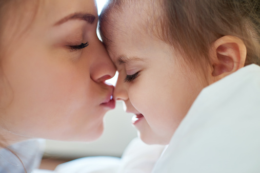 Kissing Tiny Nose Stock Photo - Download Image Now - iStock
