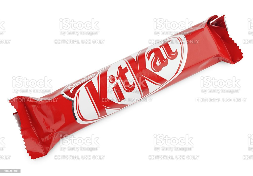 Kit Kat candy chocolat bar royalty-free stock photo