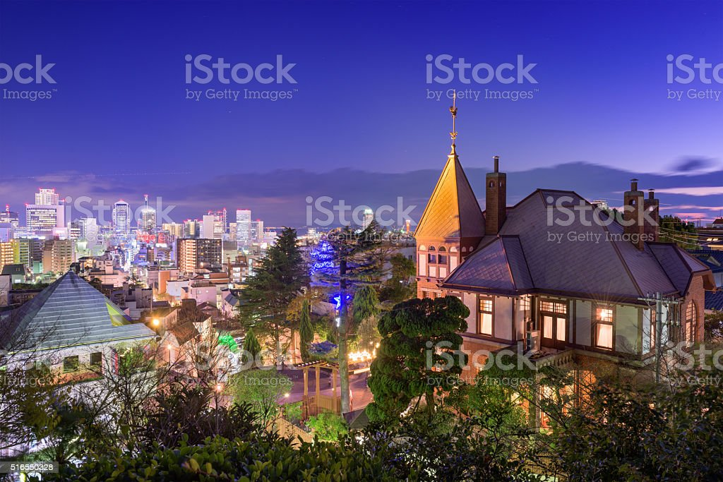 Kitano District of Kobe, Japan stock photo