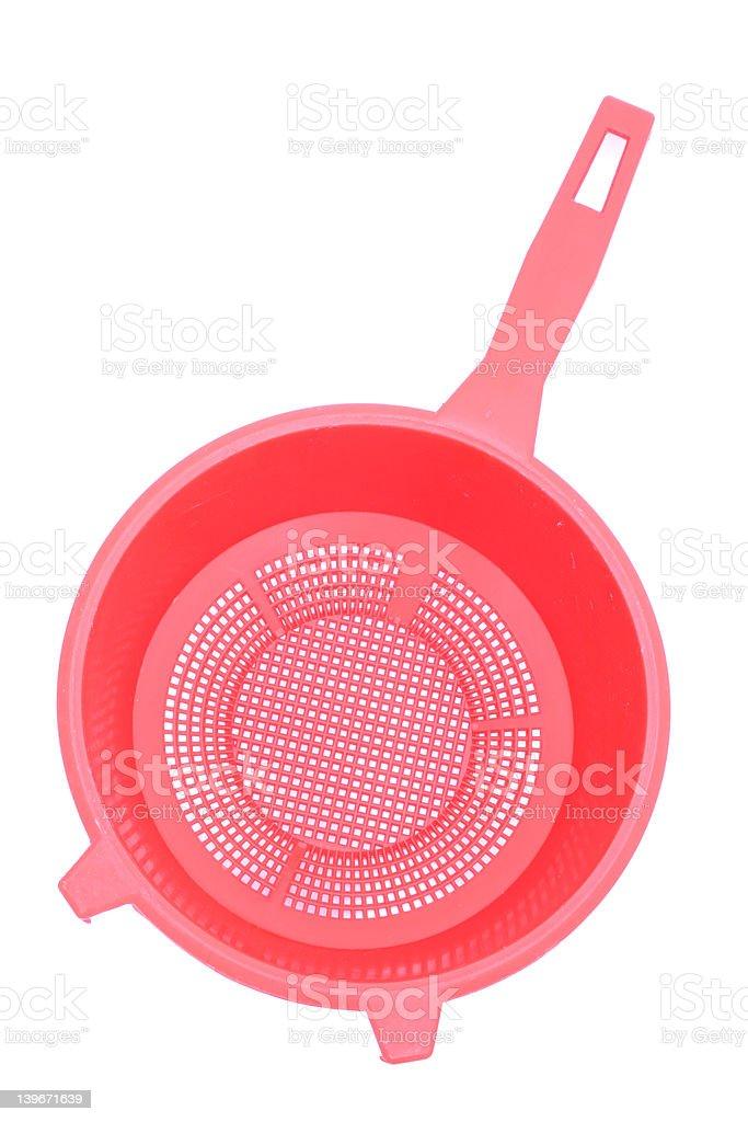 kitchen accessories - strainer stock photo