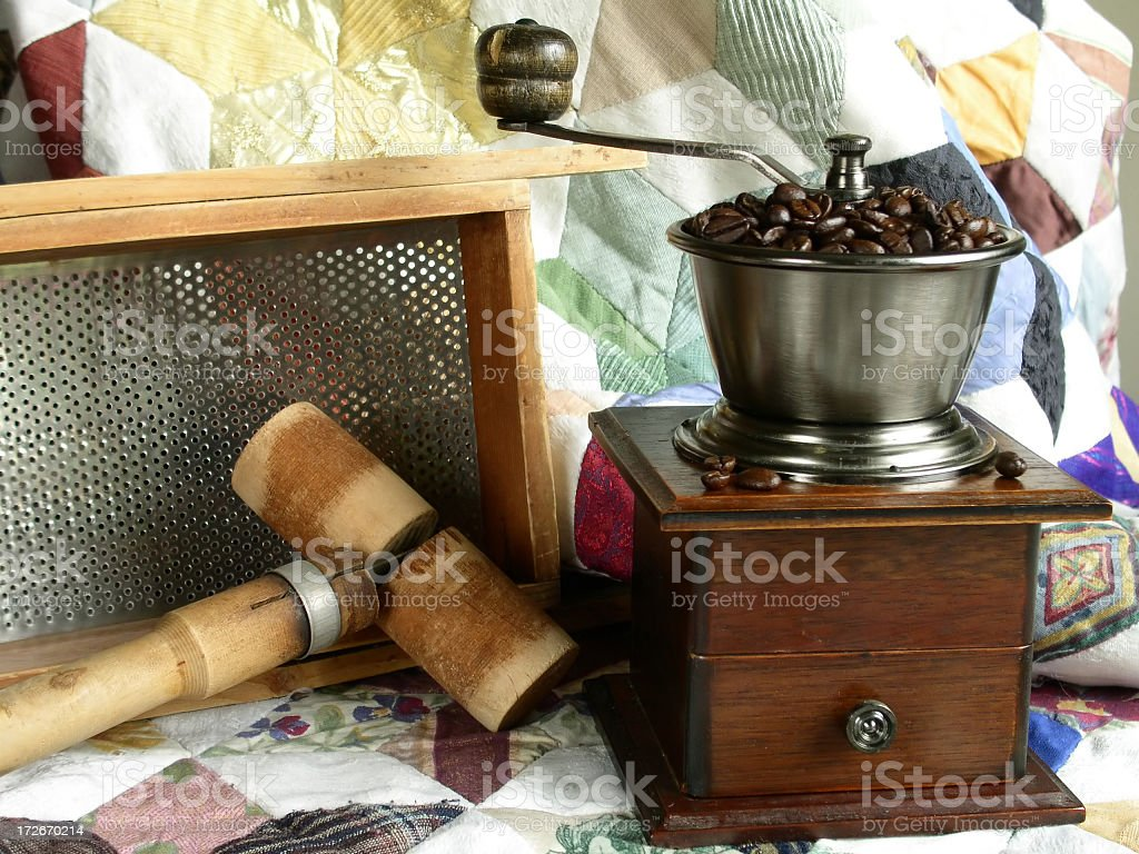 Kitchen Antiques royalty-free stock photo
