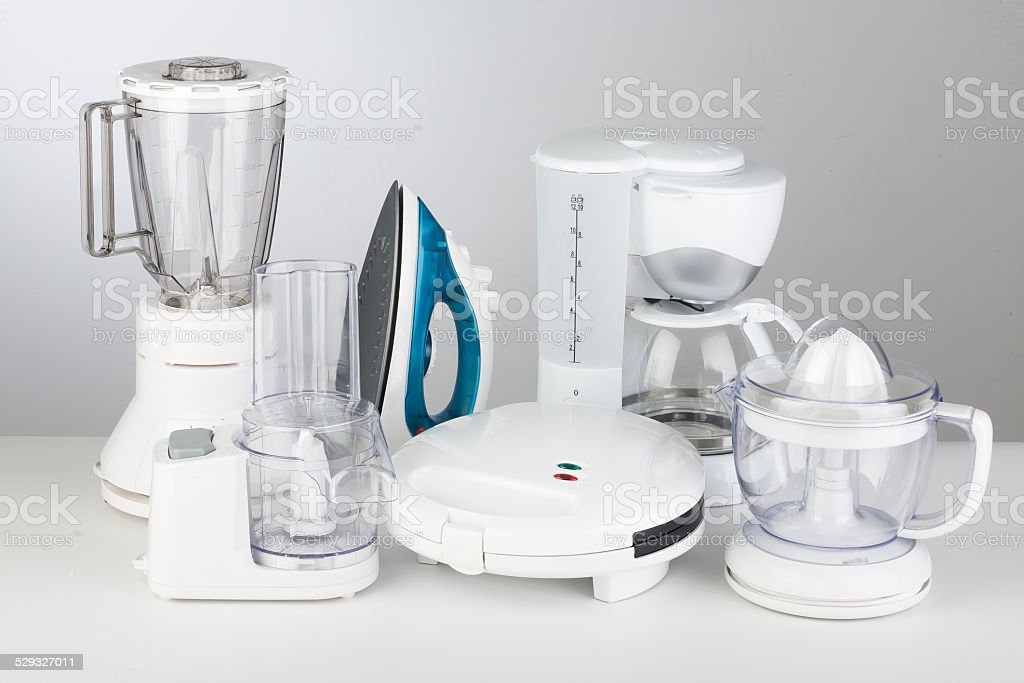 Kitchen Appliances stock photo