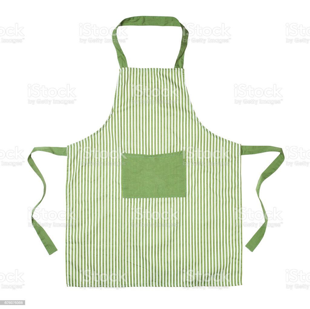 Kitchen apron stock photo