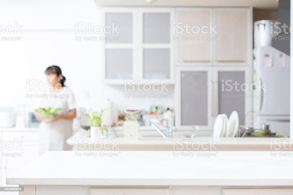 Fundo de cozinha foto royalty-free