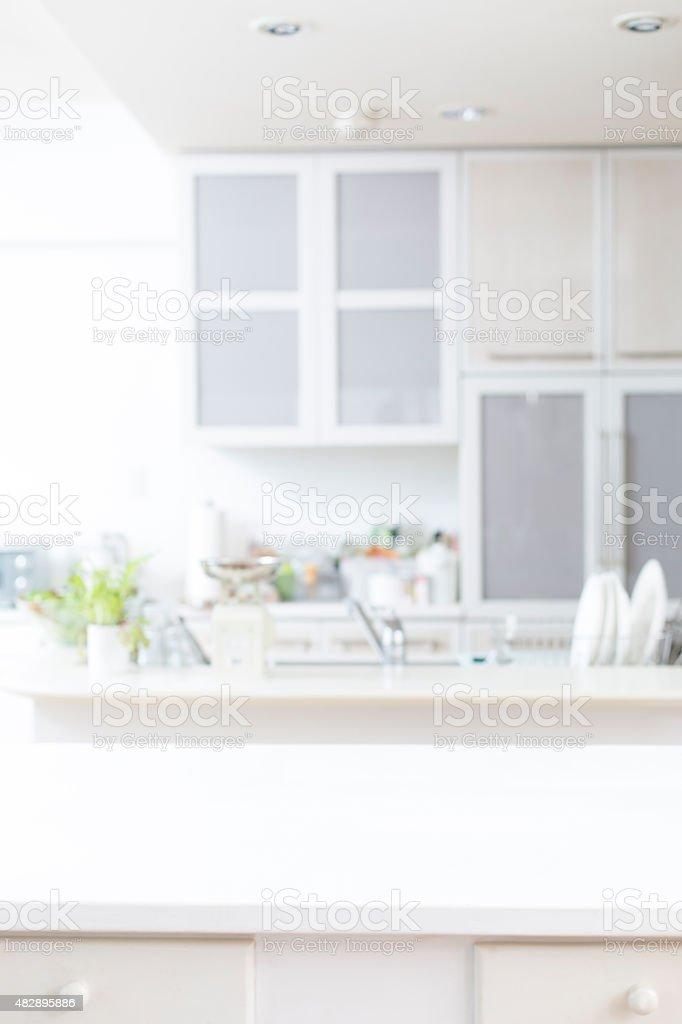 Fundo de cozinha foto de stock royalty-free