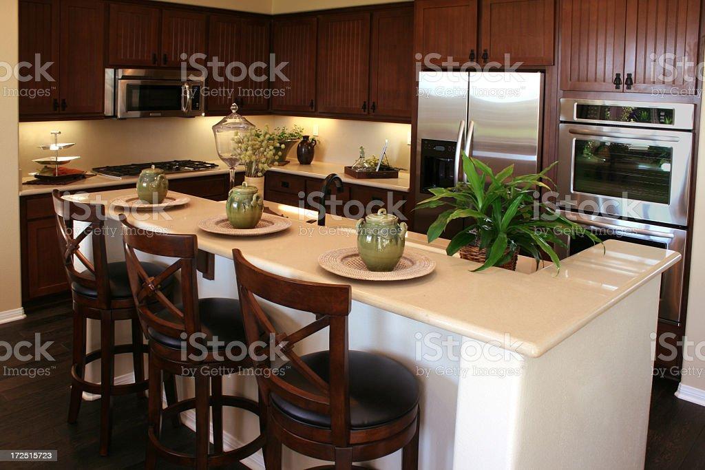 Kitchen Bar royalty-free stock photo