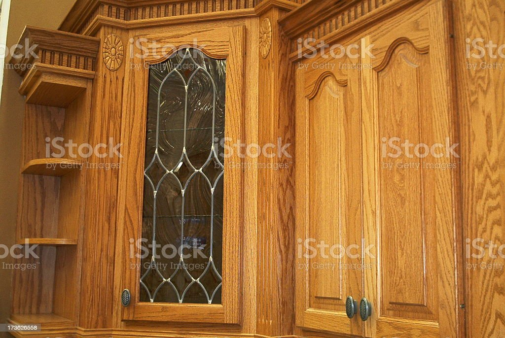 Kitchen cabinet royalty-free stock photo