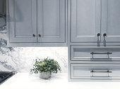 istock Kitchen Cabinets 1134845692