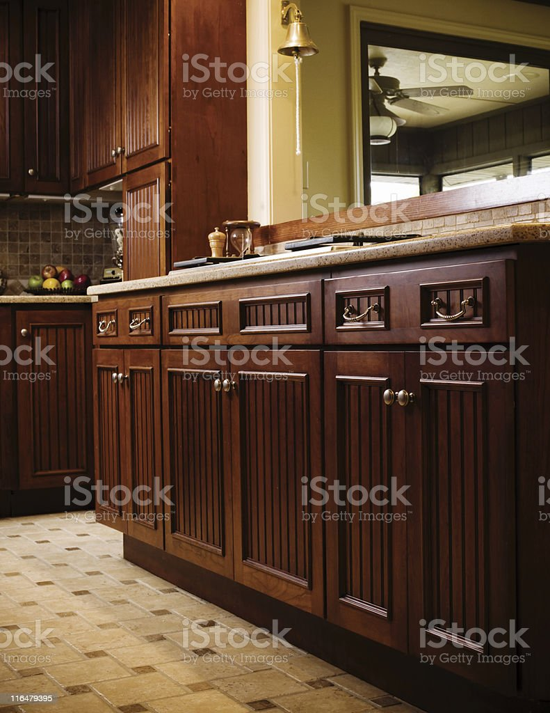 Kitchen Cabinets royalty-free stock photo