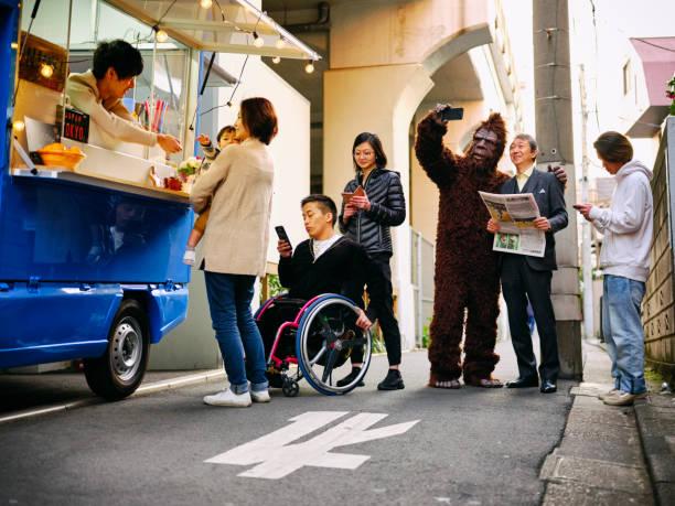 Kitchen car food truck on the street in tokyo japan picture id1150807557?b=1&k=6&m=1150807557&s=612x612&w=0&h=ppak2czmj9oncedyxbcmjz6gk3ojpvhuxvftwof1zce=