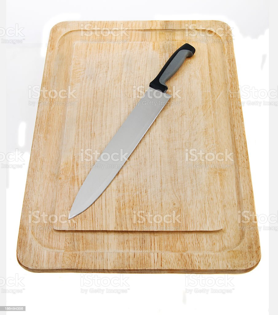 Kitchen Carving Knfes royalty-free stock photo