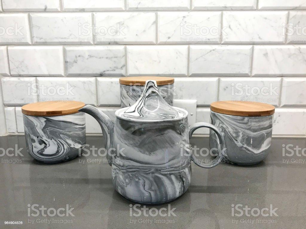 Kitchen Coffee royalty-free stock photo