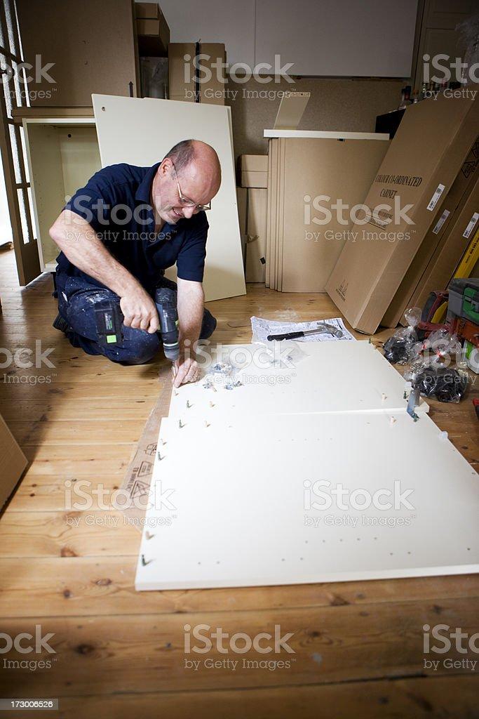 kitchen construction royalty-free stock photo