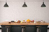 Loft kitchen design